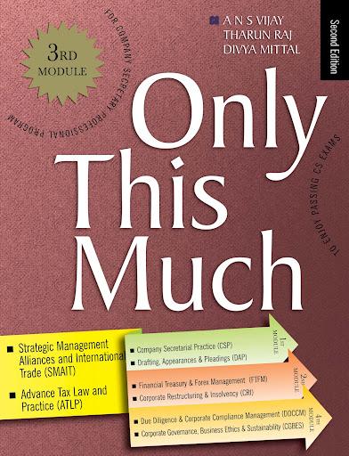 CS Professional Programme OTM Module 3 Book