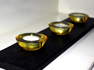 Candles at a spa in London