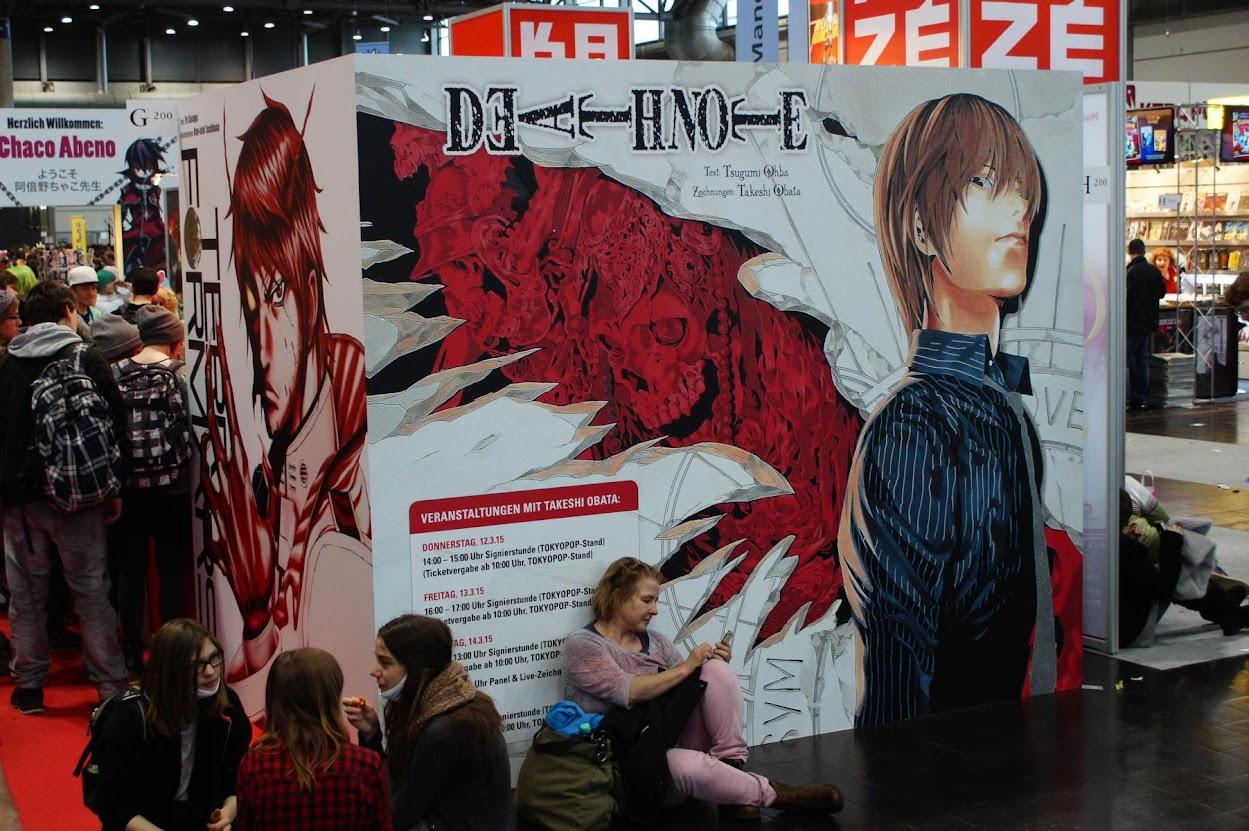 Manga Comic Convention 2015 LBM MCC Leipziger Buchmesse Cosplay Tokyopop Ansturm Takeshi Obata