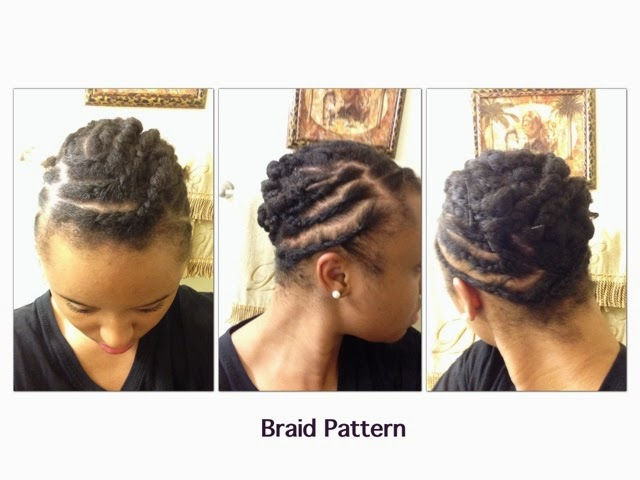 Crochet Hair Process : ... My Natural!: Protective Style Series Vol 1.1 LOME Marley Braid Hair
