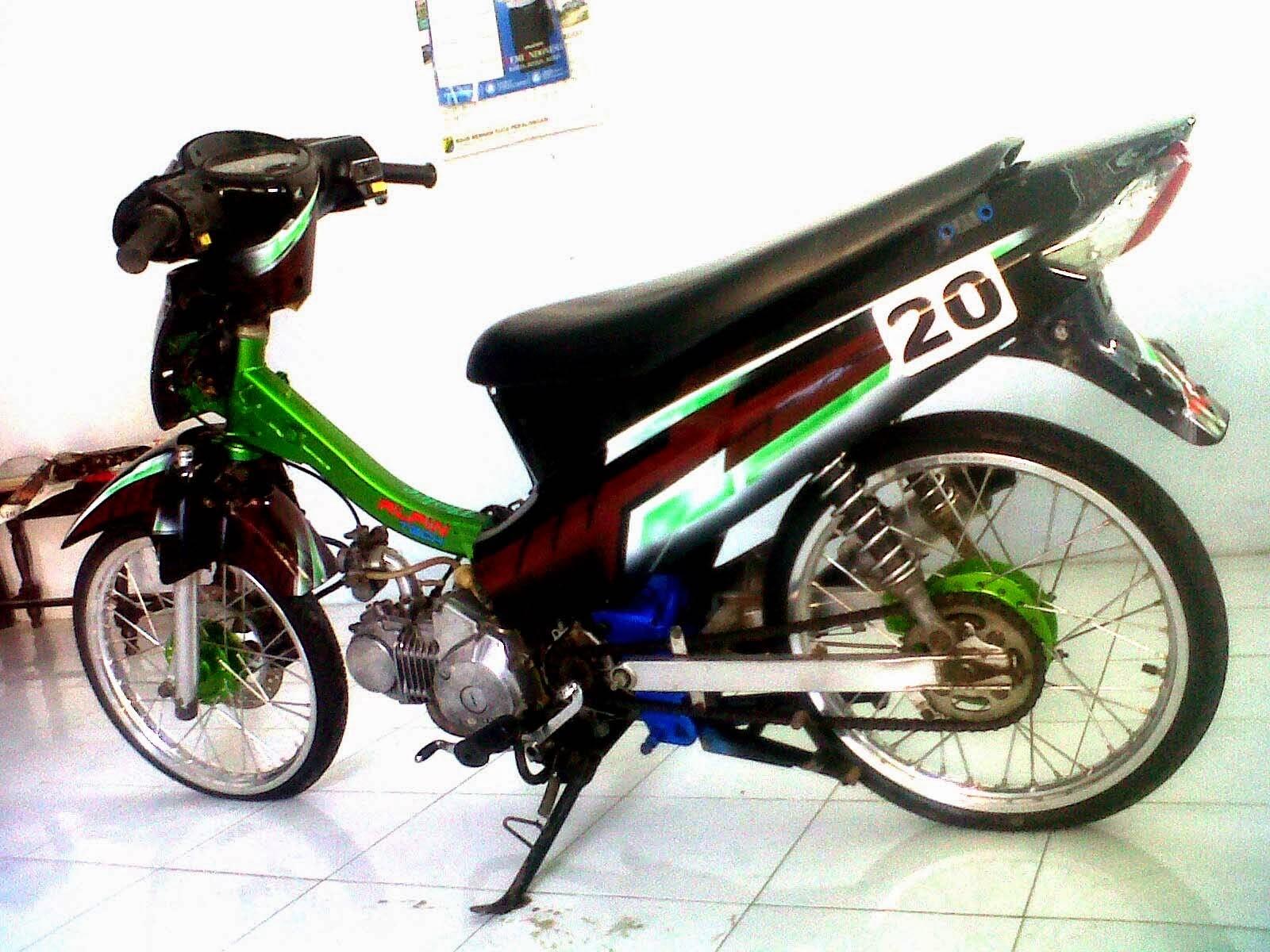 Foto Honda Kharisma Modifikasi - Thecitycyclist