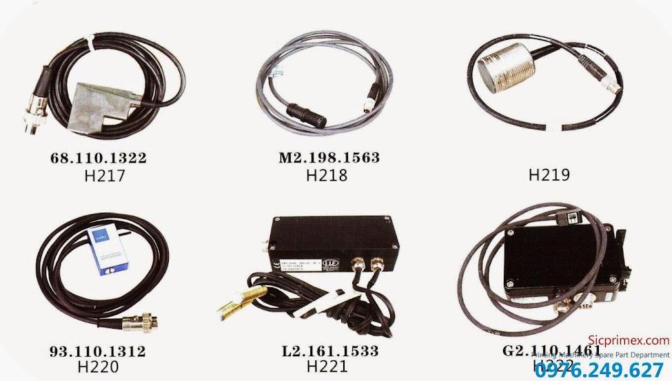 Chuyên phụ tùng máy in Hải Đức Bảo nhập khẩu giá rẻ H217-222