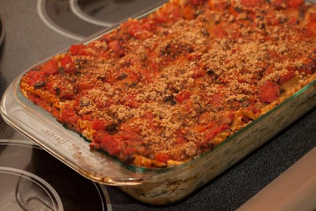 Spinach Lasagna - 1