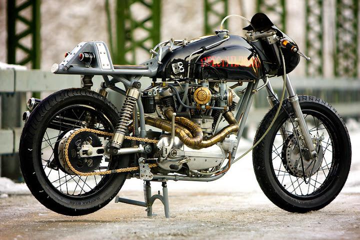 rat café racer motor cycle bike custom