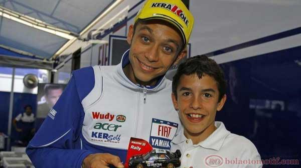 Marquez - Rossi, Fans dan Idola