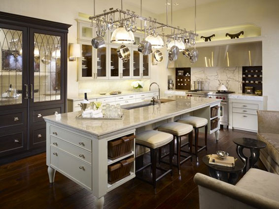 Kathleen Hay Designed This Gorgeous Dramatic White Kitchen Love The Clean Crisp Feel