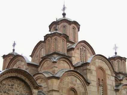 Kloster-Kirche Gračanica (Манастир Грачаница) aus dem 14. Jahrhundert, Kosovo