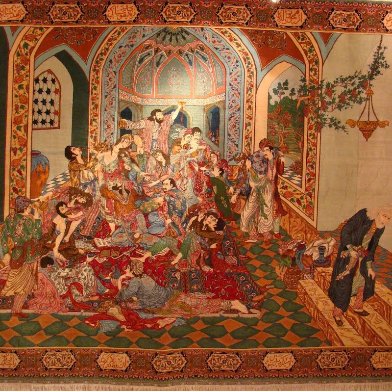 Limpieza de alfombras persas free alfombra de pura seda for Tapetes orientales