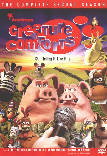 В Мире Животных / Creature Comforts (1, 2 сезон) DVDRip