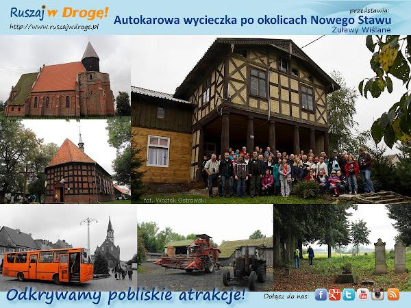 Ruszaj w Drogę na Żuławach - zwiedzamy okolice Nowego Stawu