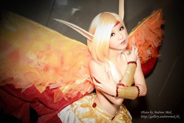 """PipiChu biến hóa với cosplay """"thiên thần sa ngã"""" - Ảnh 7"""