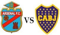 Arsenal Boca Juniors online 7 Noviembre