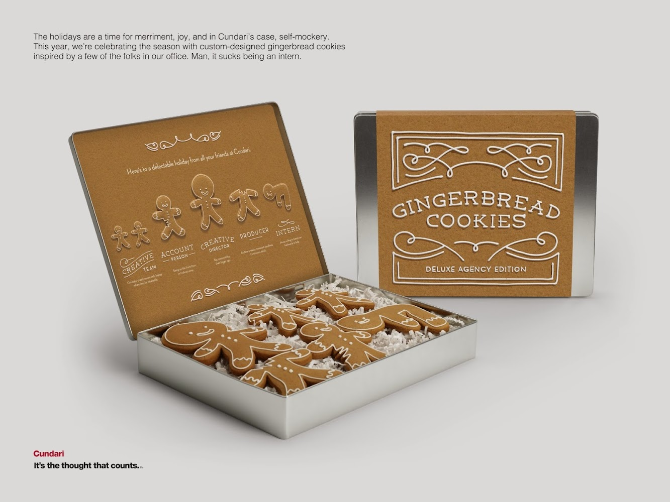 Toronto Ad Agency Cundari Has Some Fun With Gingerbread Cookies