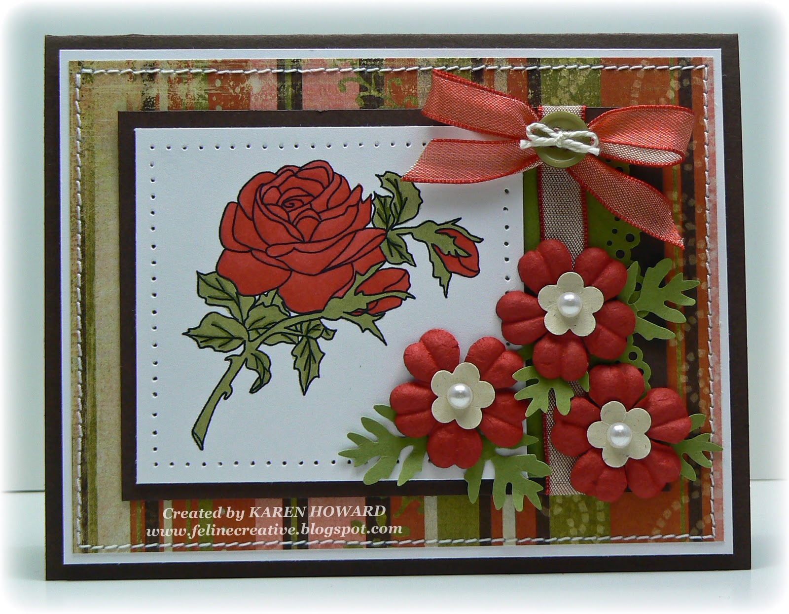 Feline Creative Birth Flowers June Rose