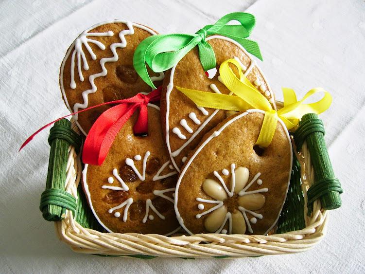 Velikonoční perníčky. Foto: Zuzana Brandová