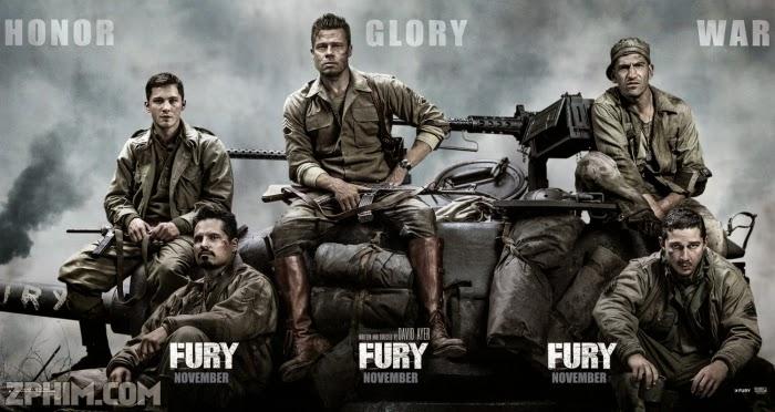 Ảnh trong phim Cuồng Nộ - Fury 1