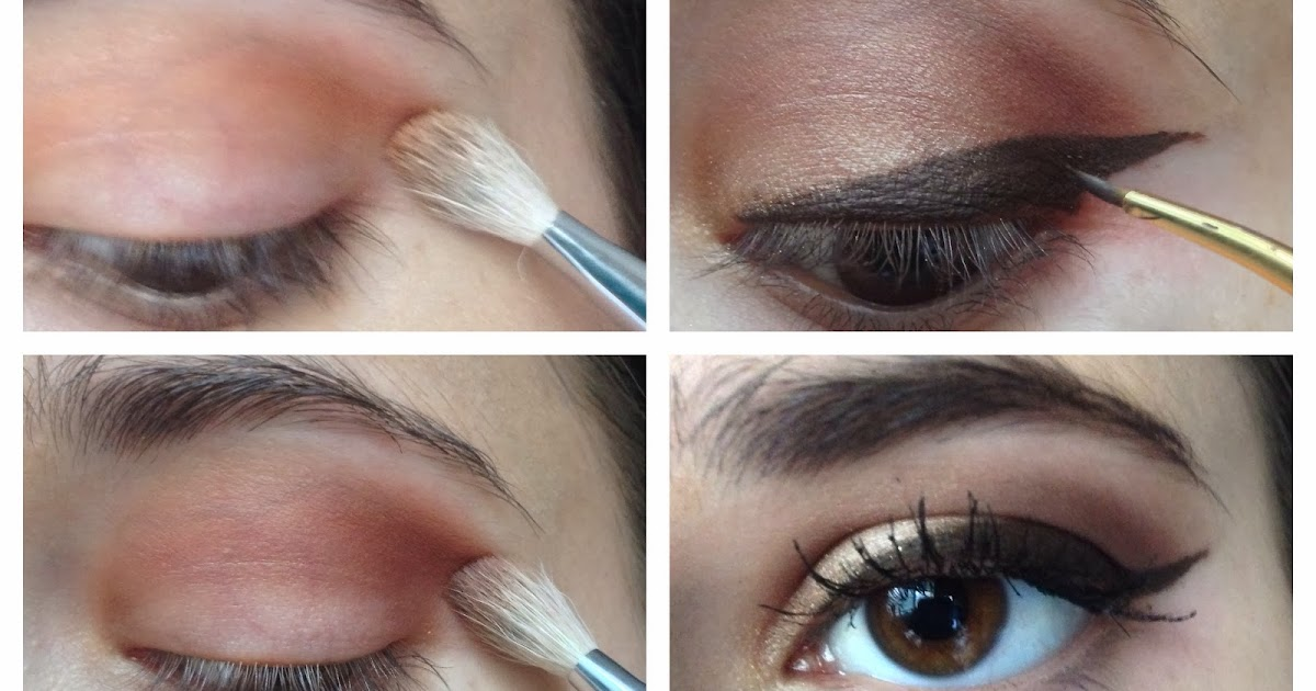 Make up and More : ): Simple eye with winged liner (Lorac ...
