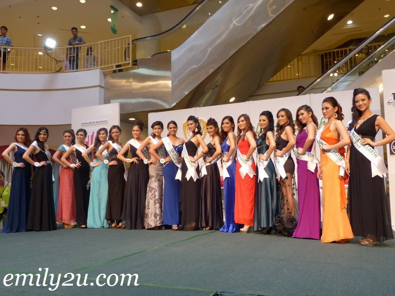 Miss Malaysia Earth 2012 - Eco Wear & Talent Subsidiary Titles