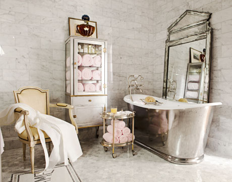 Glamorous Spa Bathroom Accessories