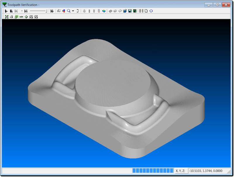 Модуль SURFCAM Verify непревзойден с точки зрения скорости и точности