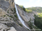 Nevada Falls - not much water in late August.