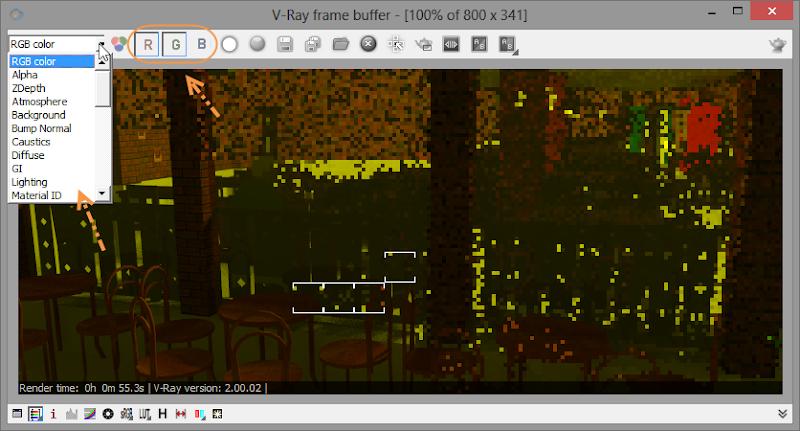 Render แล้วภาพออก สี ม่วงๆแดงๆครับ V-rayvb