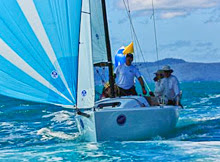 J/70 sailing fast off Whitsundays, Australia