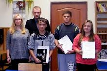 Laureaci  konkursu II Ma�opolskie Dyktando Niepodleg�o�ciowe