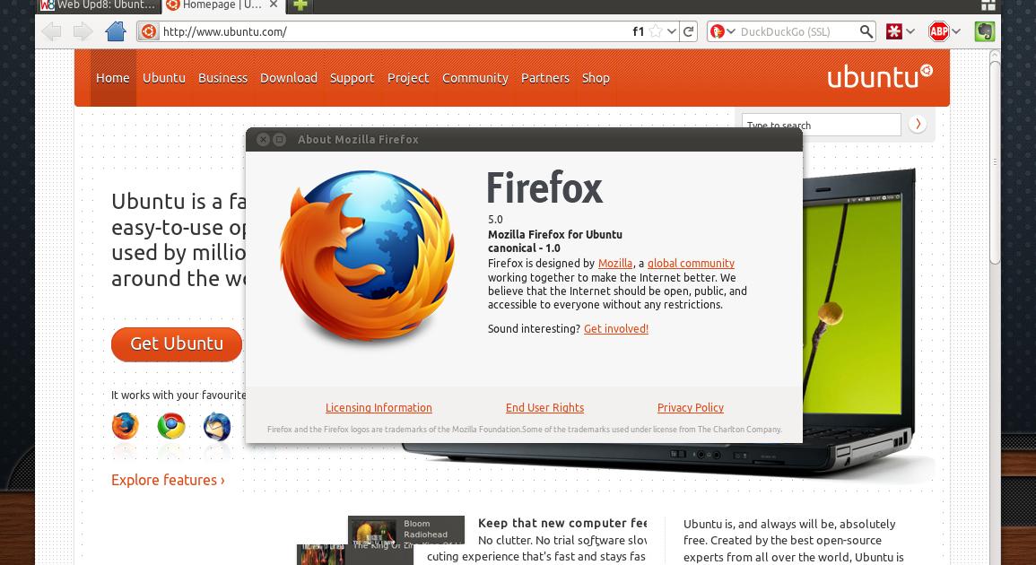 Install Firefox 5 In Ubuntu 11 04 ~ Web Upd8: Ubuntu / Linux