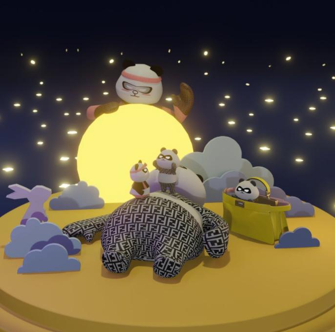 Fendi Mid-Autumn Festival animation from 2020.