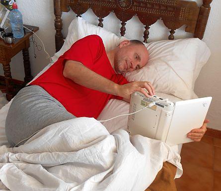 Chris in the Bed: Hotel Patricia in Torreguadiaro