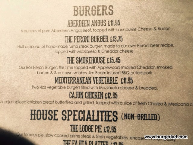 The Slyne Lodge Lancaster The Smokehouse Burger
