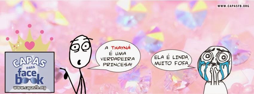Capas para Facebook Thayná
