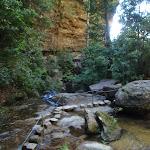 Crossing under Empress Falls (94123)