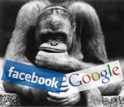 facebook or google
