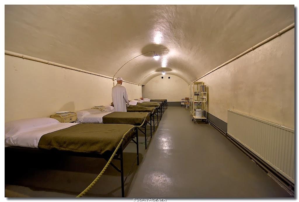 Ziekenzaal, Fort Eben Emael, John Hoenen