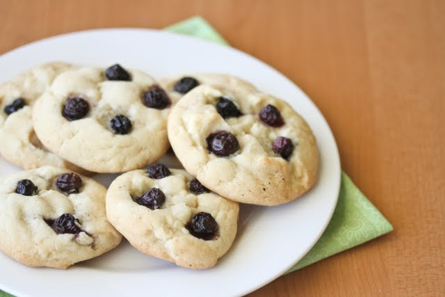 blueberry cheesecake cookies photo