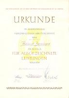 126-65 Medaille für ausgezeichnete Leistungen 1965 www.ddrmedailles.nl
