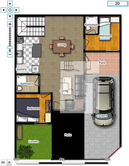 Contoh desain tampilan renovasi rumah – before – after