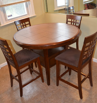 raymour flanigan solid wood kitchen dining table chair set
