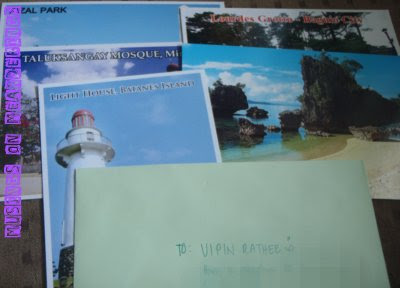 souvenirs, postcards, postcrossing
