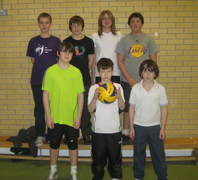 York Under 15 Boys Back: Theo, William, Jack, Louis Front: Dan, Keanu, Pepe