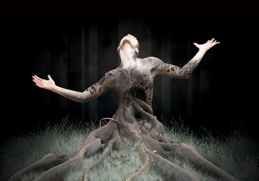 Homem árvore tutorial Photoshop