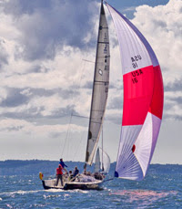 J/111 sailing AYC Fall Series on Long Island Sound
