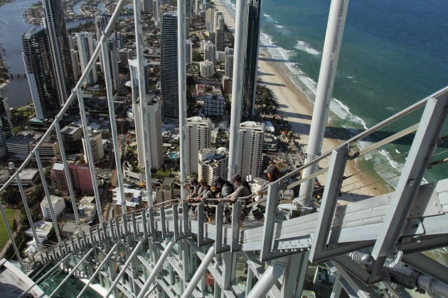 270m high adrenaline rush on the gold coast