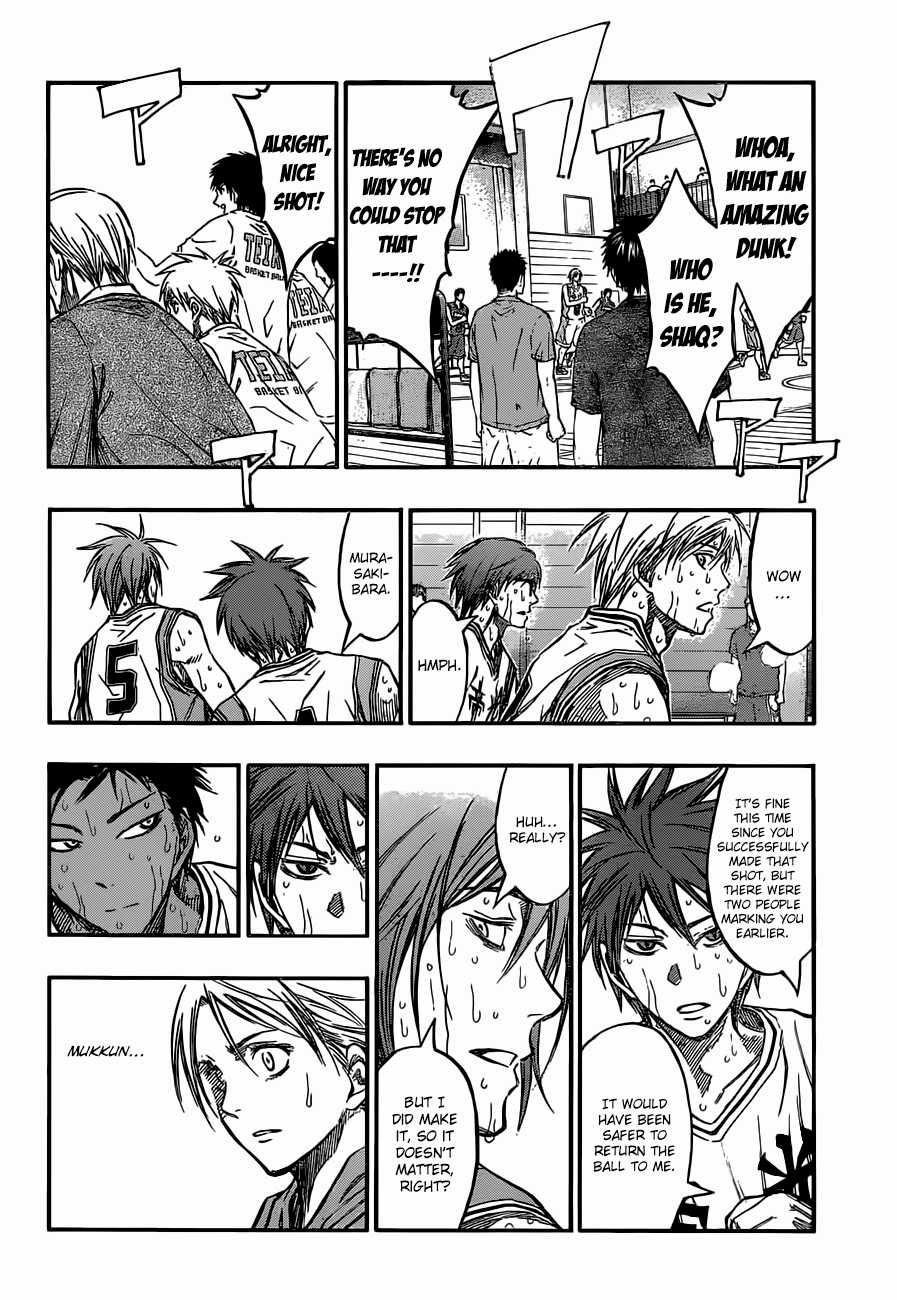 Kuroko no Basket Manga Chapter 220 - Image 04