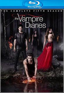The Vampire Diaries   5ª Temporada Completa BluRay 720p Dual Áudio Capa