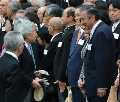 天皇陛下「台湾ありがとう」春の園遊会に台湾駐日代表に感謝示す
