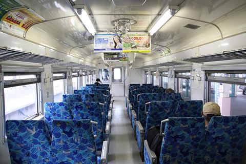 JR北海道 キハ54 516 「快速はなさき」 車内