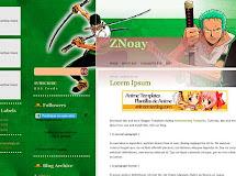 Anime Templates for Blogger: ZNoay